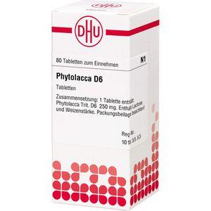 PHYTOLACCA D 6 Tabletten