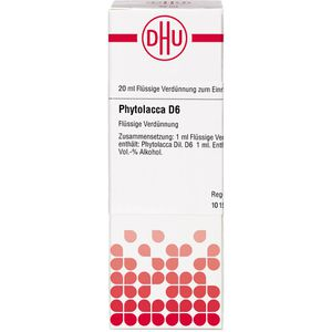 PHYTOLACCA D 6 Dilution