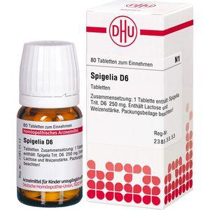 SPIGELIA D 6 Tabletten