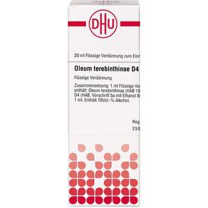 OLEUM TEREBINTHINAE D 4 Dilution