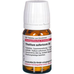 THALLIUM SULFURICUM D 6 Tabletten