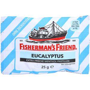 FISHERMANS FRIEND Eucalyptus ohne Zucker Pastillen