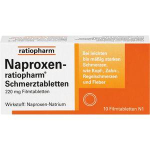NAPROXEN-ratiopharm Schmerztabl. Filmtabletten