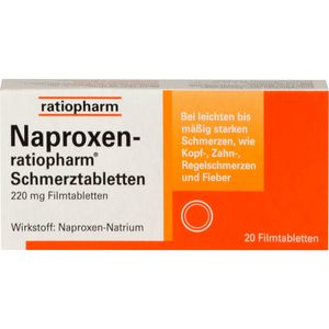 NAPROXEN ratiopharm Schmerztabl. Filmtabletten