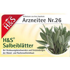 H&S Salbeiblätter Tee Filterbeutel