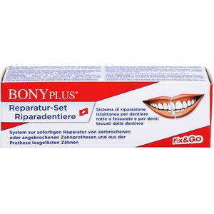 BONYPLUS Zahnprothesen Reparatur Set