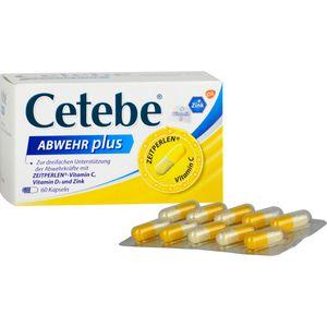 CETEBE ABWEHR plus Vitamin C+Vitamin D3+Zink Kaps.