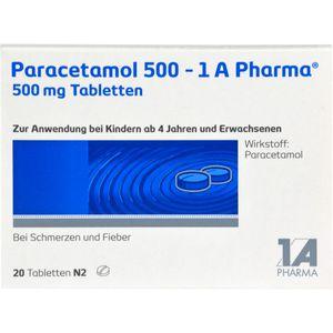 PARACETAMOL 500-1A Pharma Tabletten