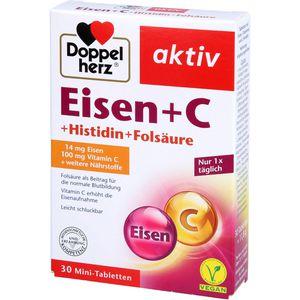 DOPPELHERZ Eisen+Vit.C+L-Histidin Tabletten