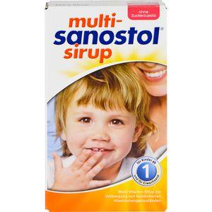 MULTI SANOSTOL Sirup ohne Zuckerzusatz