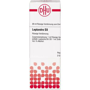 LEPTANDRA D 3 Dilution