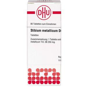 STIBIUM METALLICUM D 6 Tabletten