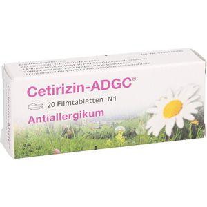 CETIRIZIN ADGC Filmtabletten