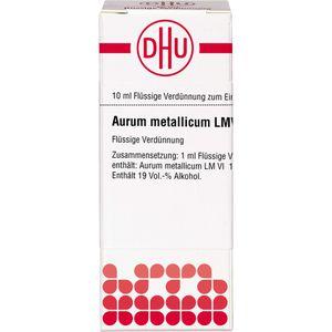 LM AURUM metallicum VI Dilution