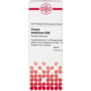 ZINCUM METALLICUM D 30 Dilution