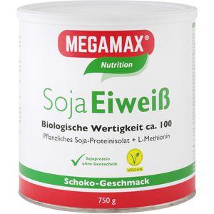 MEGAMAX Soja Eiweiß Schoko Pulver