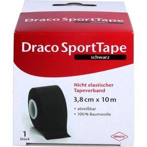 DRACO TAPEVERBAND 3,8 cmx10 m schwarz
