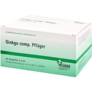 GINKGO COMP.Pflüger Ampullen