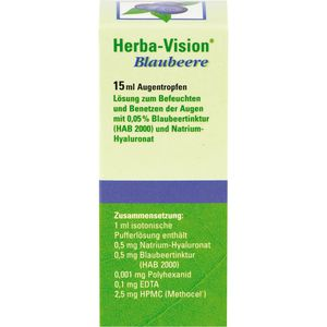 HERBA-VISION Blaubeere Augentropfen