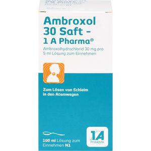 AMBROXOL 30 Saft-1A Pharma