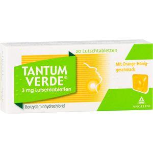 TANTUM VERDE 3 mg Lutschtabl.m.Orange-Honiggeschm.