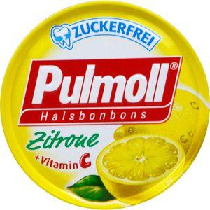 PULMOLL Hustenbonbons Zitrone+Vit.C zuckerfrei