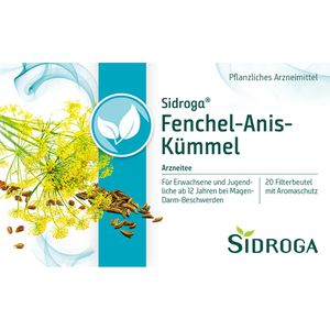 SIDROGA Fenchel Anis Kümmel Tee Filterbeutel