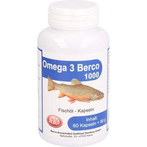 OMEGA-3 Berco 1000 mg Kapseln