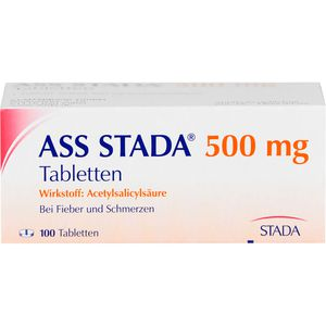 ASS STADA 500 mg Tabletten