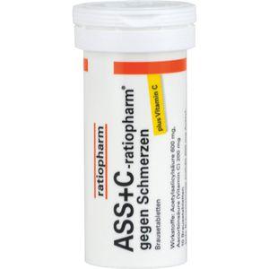 ASS + C-ratiopharm gegen Schmerzen Brausetabletten