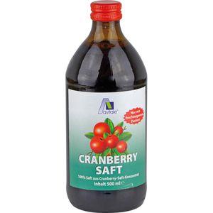 CRANBERRY SAFT 100% Frucht