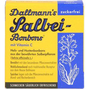 DALLMANN'S Salbei Bonbons zuckerfrei