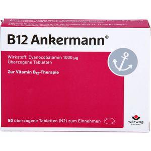 B12 ANKERMANN überzogene Tabletten