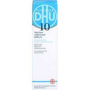 BIOCHEMIE DHU 10 Natrium sulfuricum N D 4 Salbe