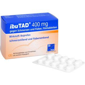 IBUTAD 400 mg gegen Schmerzen und Fieber Filmtabl.