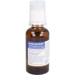 AMBROHEXAL Hustentropfen 7,5 mg/ml