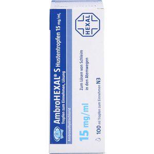 AMBROHEXAL S Hustentropfen 15 mg/ml