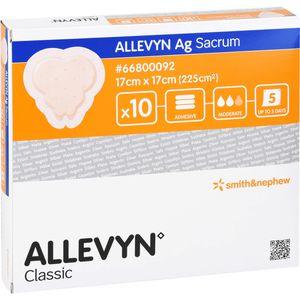 ALLEVYN Ag Sacrum 17x17 cm Verband