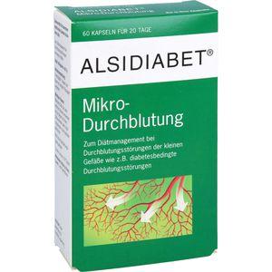 ALSIDIABET Diabetiker Mikro Durchblutung Kapseln