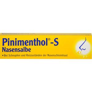 PINIMENTHOL S Nasensalbe