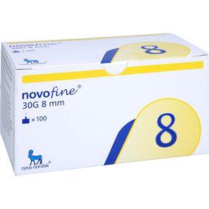 NOVOFINE 8 Kanülen 0,30x8 mm
