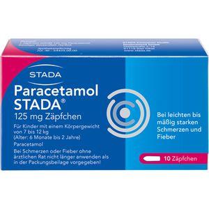 PARACETAMOL STADA 125 mg Zäpfchen