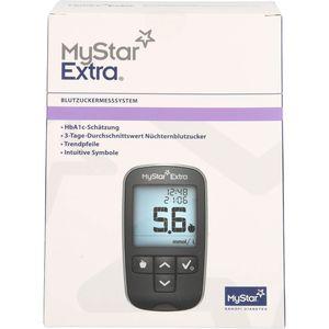 MYSTAR Extra Blutzuckermessgerät Set mmol/l