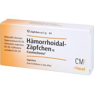 HÄMORRHOIDAL Zäpfchen N Cosmochema