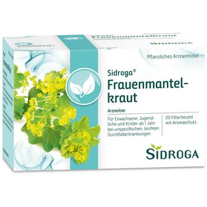 SIDROGA Frauenmantelkraut Tee Filterbeutel