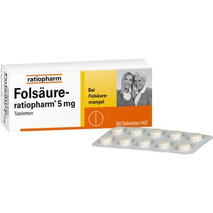 FOLSÄURE-RATIOPHARM 5 mg Tabletten
