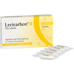 LECICARBON E CO2 Laxans Erwachsenensuppositorien