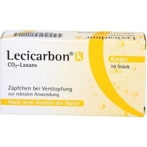 LECICARBON K CO2 Laxans Kindersuppositorien