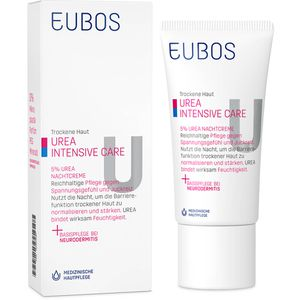 EUBOS TROCKENE Haut Urea 5% Nachtcreme