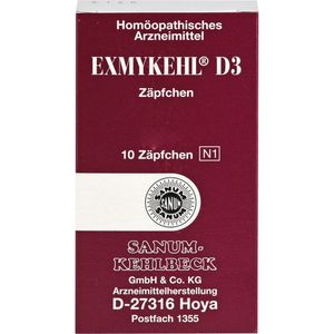 EXMYKEHL D 3 Suppositorien